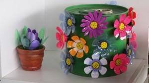 Flores Recicladas Imantadas de ReciAmancaes