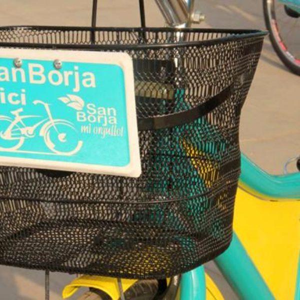Programa innovador: ¨san borja en bici¨ un buen ejemplo de transporte público sostenible en la ciudad de lima
